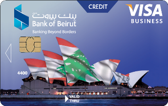 بطاقة Visa Business الإئتمانية