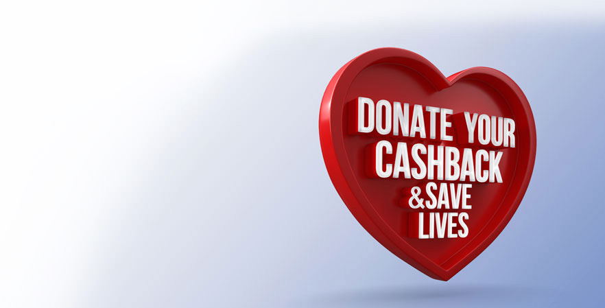 Donate the Cashback