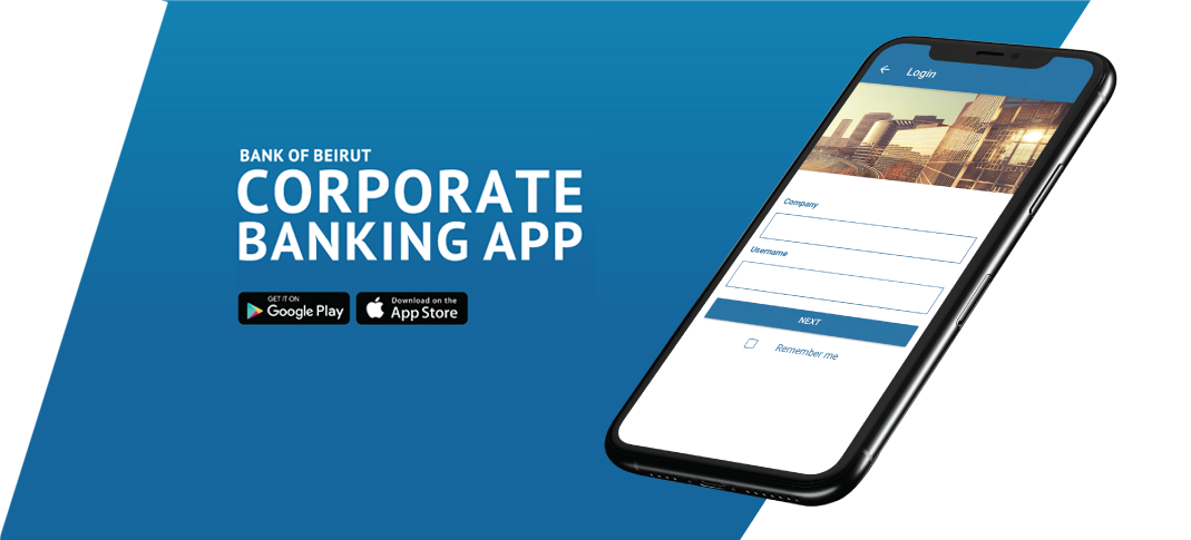 Bank of Beirut Corporate App