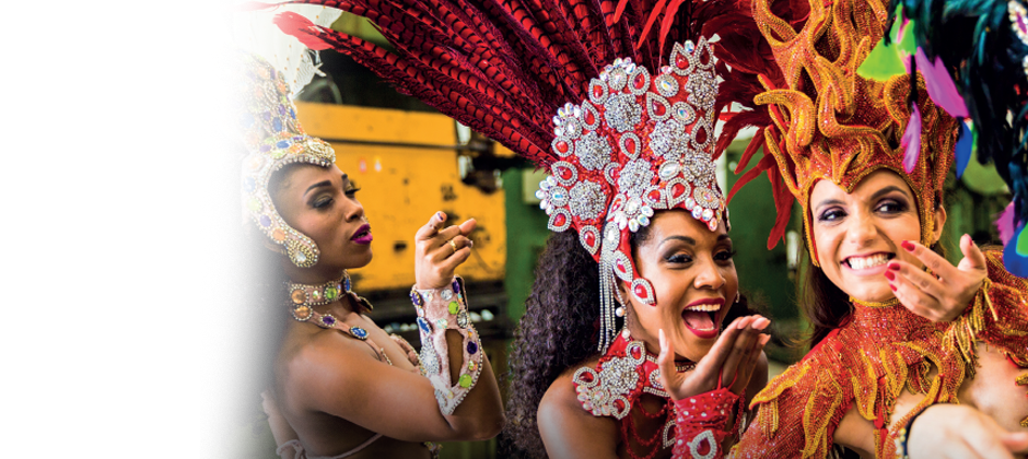 The Rio Carnival is calling!