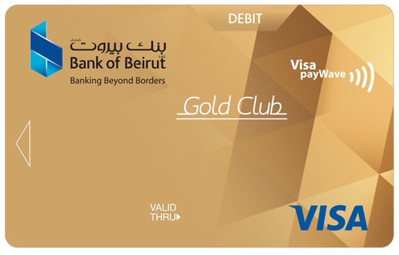 Gold Club Debit Card