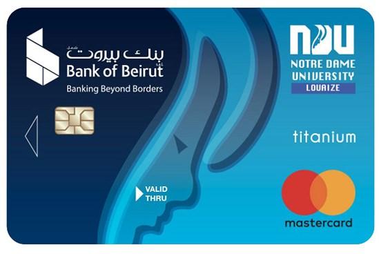 NDU Affinity  – MasterCard Titanium