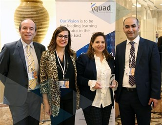 Bank of Beirut awarded by IQUAD Middle East 2018