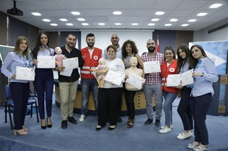 Bank of Beirut Team First Aid & CPR Training Course with the Lebanese Red Cross