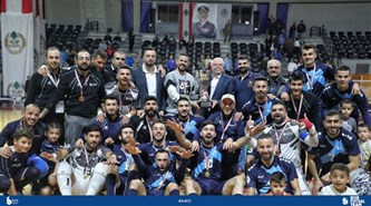 Champions of the Lebanese Futsal Cup