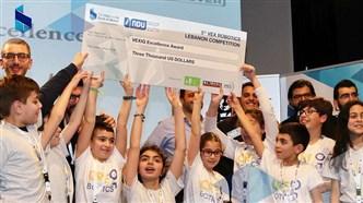Bank of Beirut Sponsors NDU 5th VEX Robotics