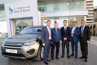 Bank of Beirut Celebrates One of its Cardholders, Winner of the Visa– MEDCO Campaign