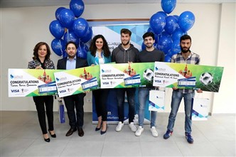 بنك بيروت يكافئ الفائزين في حملة كأس العالم روسيا 2018 FIFA