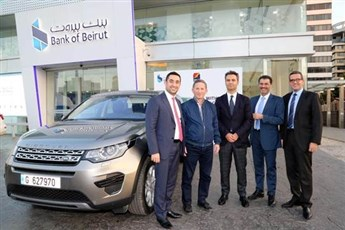 Bank of Beirut Celebrates the Winner of the Visa– MEDCO Campaign