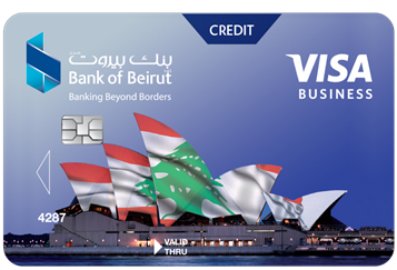 بطاقة Visa Business