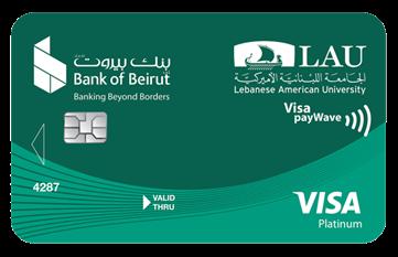 LAU Affinity - Visa Platinum