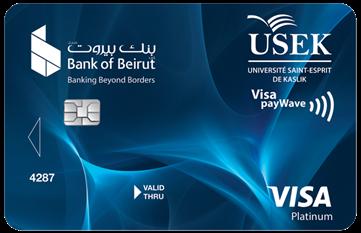 USEK Affinity - Visa Platinum