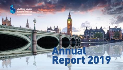 2019 Annual Report Bank of Beirut - UK