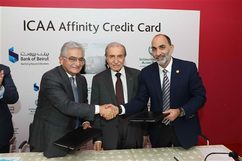 Bank of Beirut Signs MOU with the International College Alumni Association And Launches the ICAA Affinity Credit Card