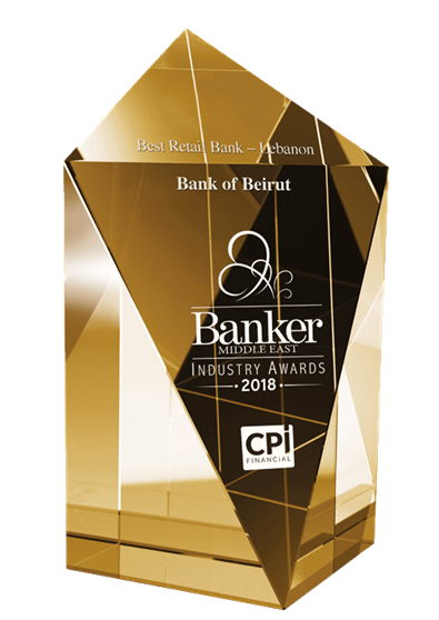Best Retail Bank Lebanon - 2018